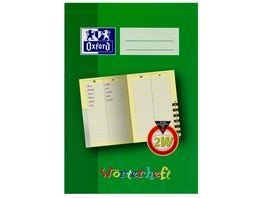 Oxford Lernsysteme A5 Woerterheft Lineatur 2W
