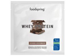 Foodspring Sachets Whey Schokolade