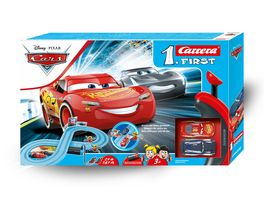 Carrera First Disney Pixar Cars Power Duell