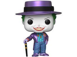 Funko POP Batman 1989 Joker with Hat Metallic Vinyl