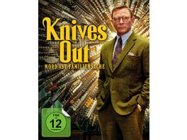 Knives Out Mord ist Familiensache Mediabook 4K Ultra HD Blu ray 2D