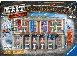 Ravensburger Spiel EXIT Adventskalender Pro Das verrueckte Zeitreisemuseum