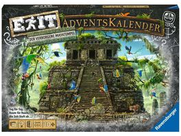 Ravensburger Spiel EXIT Adventskalender Der verborgene Mayatempel