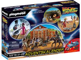PLAYMOBIL Adventskalender 70576 Back to the Future Part III