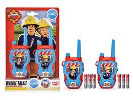 Dickie Toys Feuerwehrmann Sam Walkie Talkie 2021