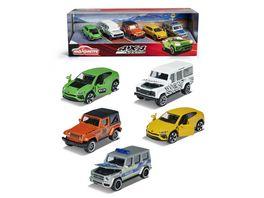 Majorette 4x4 SUV Geschenkset