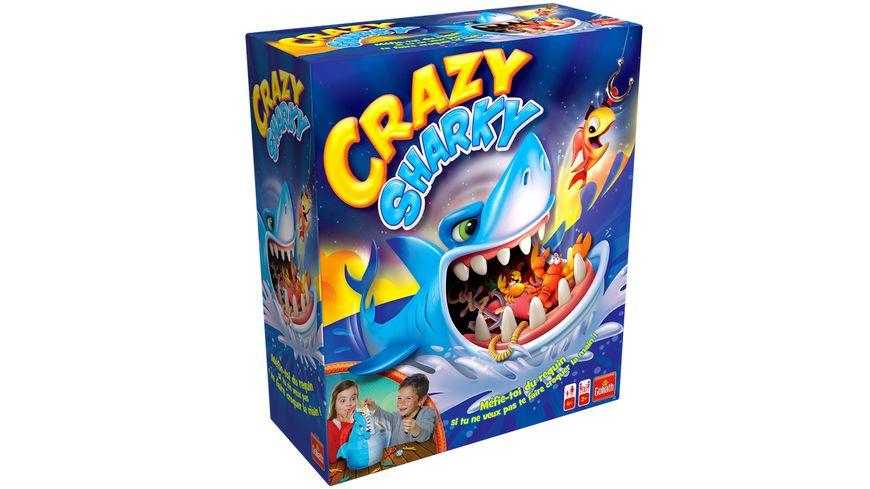 Goliath Toys - CRAZY SHARKY Aktionsspiel