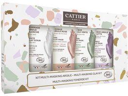 CATTIER Multi Masking Clay Kit