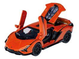 Majorette Deluxe Cars LAMBORGHINI SIAN orange