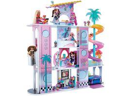 LOL Surprise OMG House of Surprises New Real Wood Echtes Holz Puppenhaus mit 85 Ueberraschungen