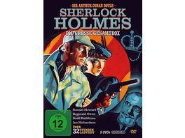 Sherlock Holmes Die grosse Gesamtbox 9 DVDs