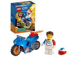 LEGO City Stuntz 60298 Raketen Stuntbike Motorrad Spielzeug