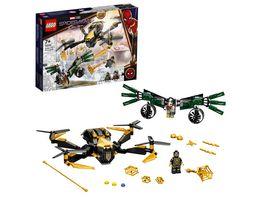 LEGO Marvel 76195 Spider Mans Drohnenduell Spielzeug ab 7 Jahren