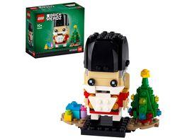 LEGO BrickHeadz 40425 Nussknacker Weihnachtsgeschenk Geschenkidee