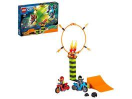 LEGO City Stuntz 60299 Stunt Wettbewerb Set mit Motorrad Spielzeug