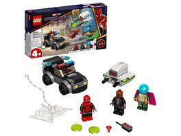 LEGO Marvel 76184 Mysterios Drohnenattacke auf Spider Man Spielzeug