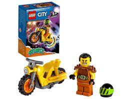 LEGO City Stuntz 60297 Power Stuntbike mit Motorrad Spielzeug und Minifigur