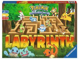Ravensburger Spiel Pokemon Labyrinth Familienspiel fuer 2 4 Spieler ab 7 Jahren