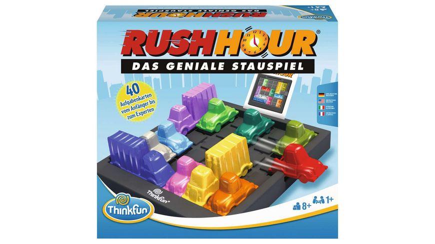 Thinkfun - Rush Hour - Das geniale Stauspiel und bekannte Logikspiel von Thinkfun für Jungen und Mädchen ab 8 Jahren