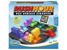 Thinkfun Rush Hour Das geniale Stauspiel und bekannte Logikspiel von Thinkfun fuer Jungen und Maedchen ab 8 Jahren