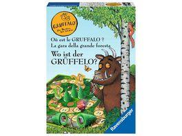 Ravensburger Spiel Wo ist der Grueffelo Brettspiel fuer 2 4 Grueffelo Fans ab 4 Jahren