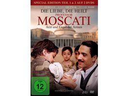 Die Liebe die heilt Professor Moscati Arzt und Engel der Armen Special Edition 2 DVDs