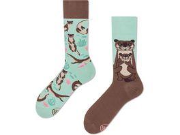 MANY MORNINGS Unisex Socken Otter Stories
