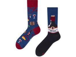 MANY MORNINGS Unisex Socken Cabernet Sockvigno