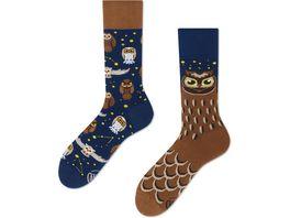 MANY MORNINGS Unisex Socken Owly Moly