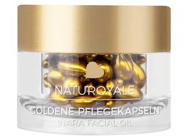 ANNEMARIE BOeRLIND NATUROYALE Goldene Pflegekapseln Nara Facial Oil