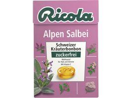 Ricola Bonbons Alpen Salbei Box