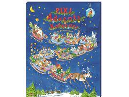 Pixi Adventskalender 2021 Mit 22 Pixi Buechern und 2 Maxi Pixi
