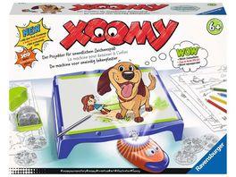 Ravensburger Beschaeftigung Xoomy Maxi A4 18135 Zeichnen lernen Kreatives Zeichnen und Malen fuer Kinder ab 6 Jahren Zeichenset mit ueber 300 Motiven fuer unendlichen Zeichenspass