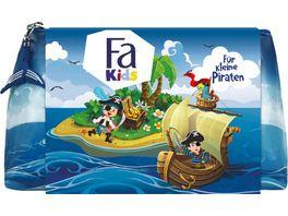 FA Geschenkset Pirat Kids Boy Fluessigseife Duschgel und Tasche