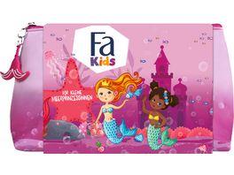 FA Geschenkset Meerjungfrau Kids Girl Fluessigseife Duschgel und Tasche