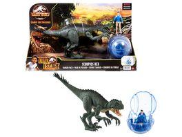 Jurassic World Neue Abenteuer Dino Escape Scorpios Rex Danger Pack