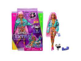 Barbie Extra Puppe mit pinken Flechtzoepfen Anziehpuppe Modepuppe