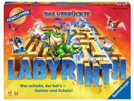 Ravensburger Spiel Das verrueckte Labyrinth Spieleklassiker fuer 2 4 Personen ab 7 Jahren