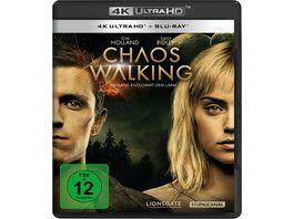 Chaos Walking 4K Ultra HD Blu ray 2D