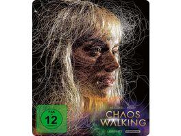 Chaos Walking Limited Steelbook Edition 4K Ultra HD Blu ray 2D