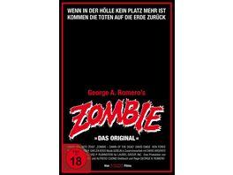 Zombie Dawn of the Dead Retro VHS Edition A 4K Ultra HD 3 Blu rays