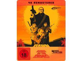 Zombie Dawn of the Dead Steelbook 4K Ultra HD 3 Blu rays