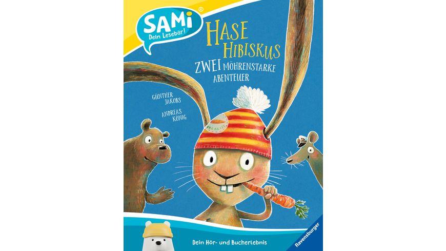 SAMi - Hase Hibiskus - Zwei möhrenstarke Abenteuer