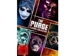 The Purge 5 Movie Collection 5 DVDs