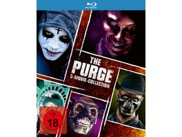 The Purge 5 Movie Collection 5 BRs