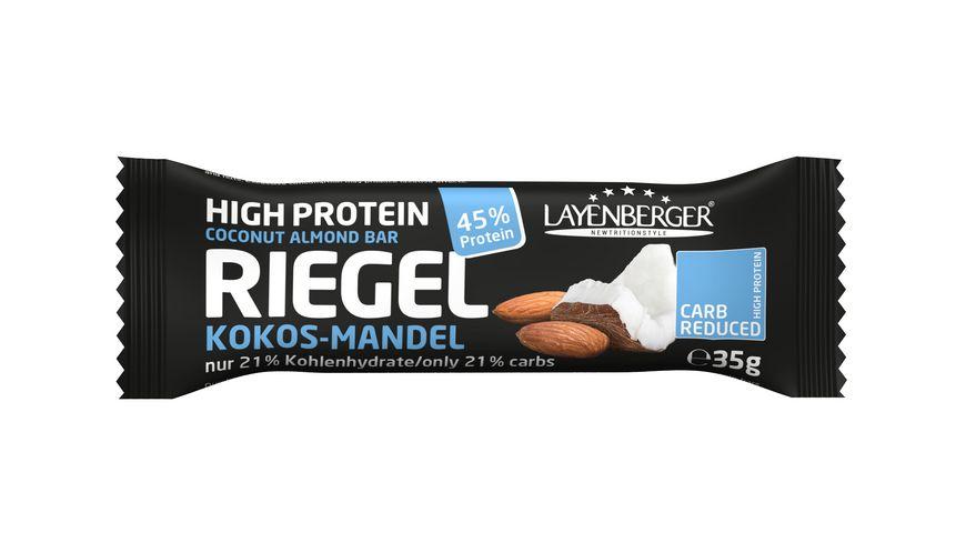 Layenberger High Protein Riegel Kokos-Mandel