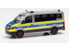 Herpa 096195 MAN TGE BUS FD POLIZEI WIESBADEN
