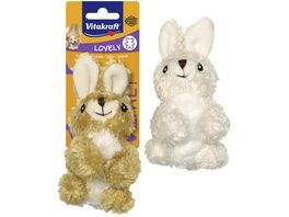 Vitakraft Hundespielzeug Kaninchen aus Pluesch