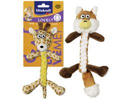 Vitakraft Hundespielzeug Fuchs Giraffe