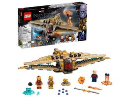 LEGO Marvel 76237 Sanctuary II Finales Duell Raumschiff Spielzeug